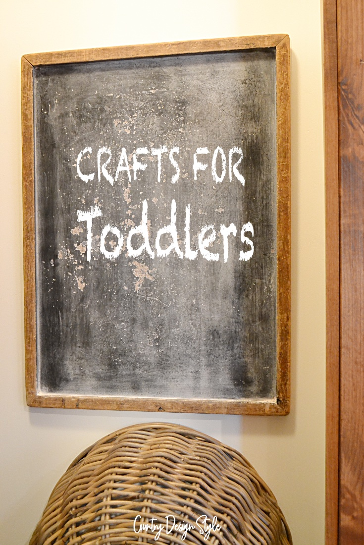 chalkboard crafts for toddlers