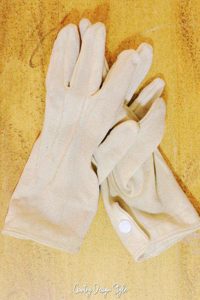 My Mr Peanut gloves