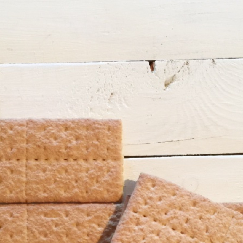 Graham Cracker Gingerbread House base