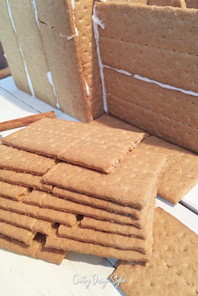 Graham Cracker Gingerbread House stop