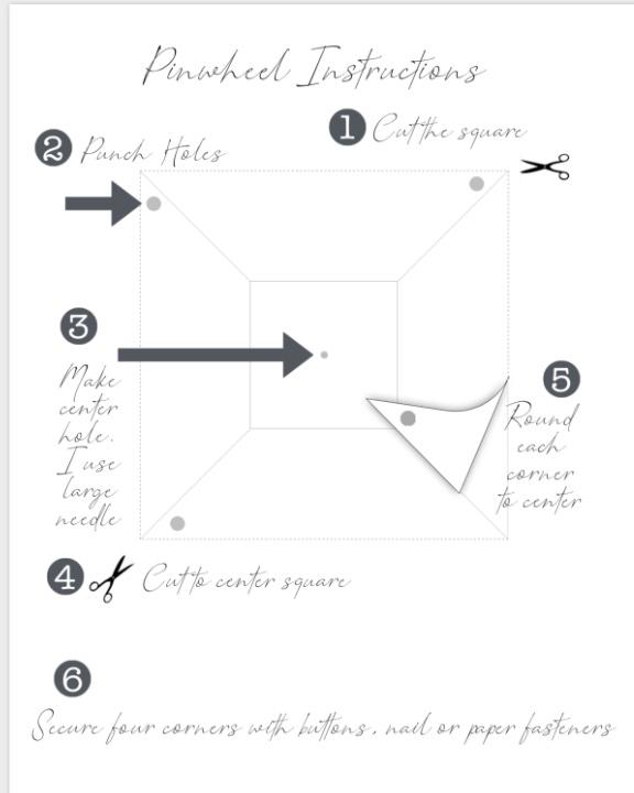 Pinwheel Instructions image