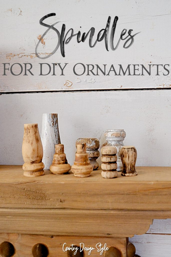 Spindles for making DIY ornaments