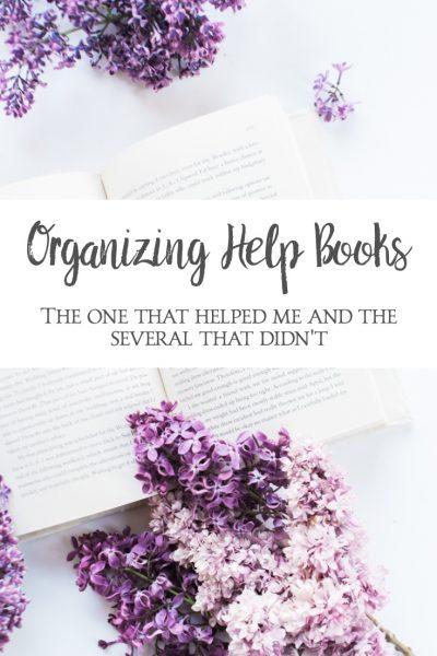 organizing help books