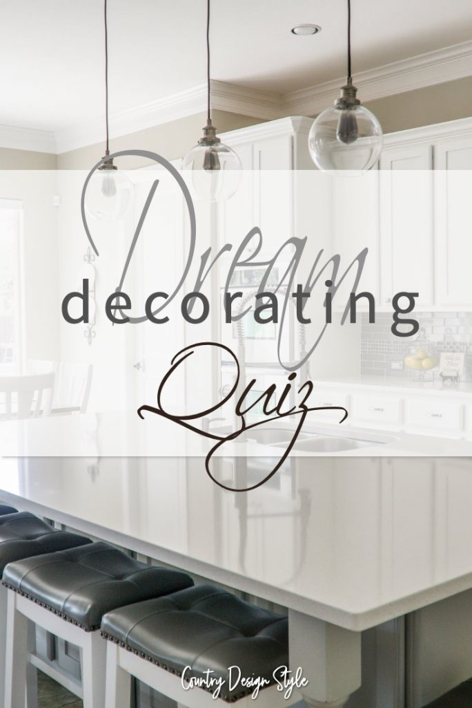 Dream Decorating Quiz
