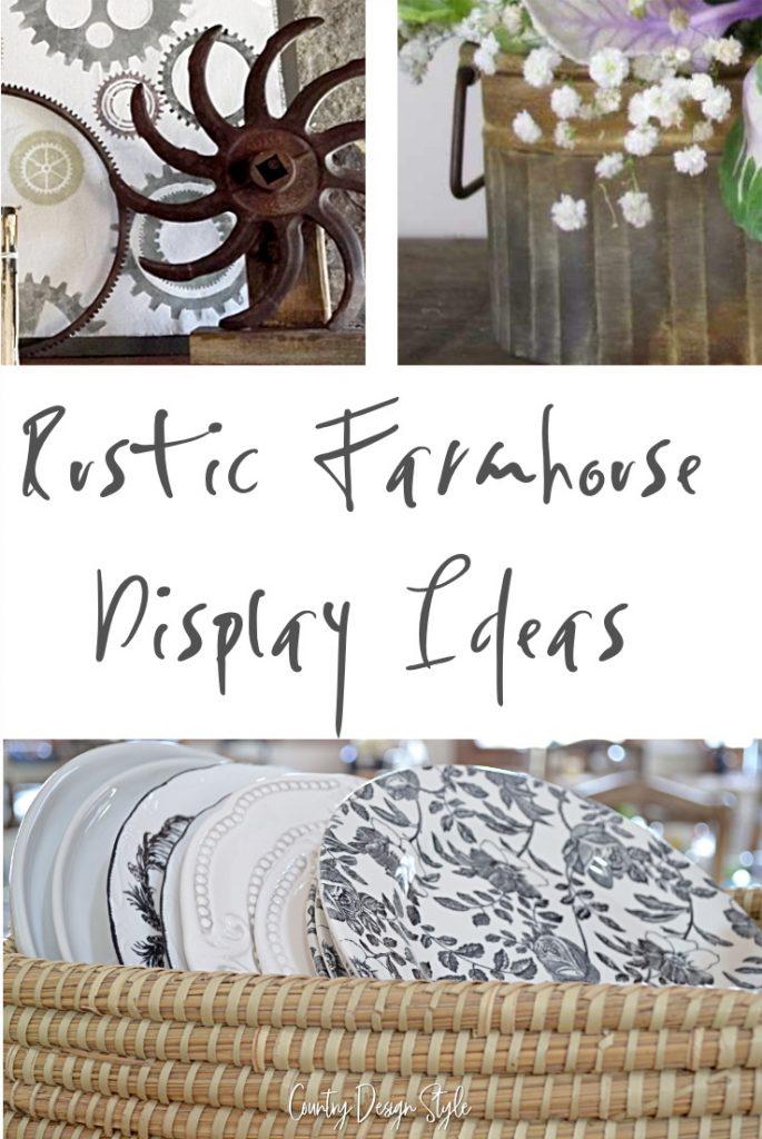 Farmhouse Display ideas