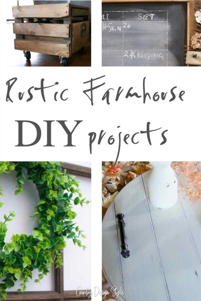 Rustic Farmhouse DIY projects