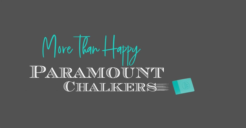 More than happy Paramount Chalk Couture Designers