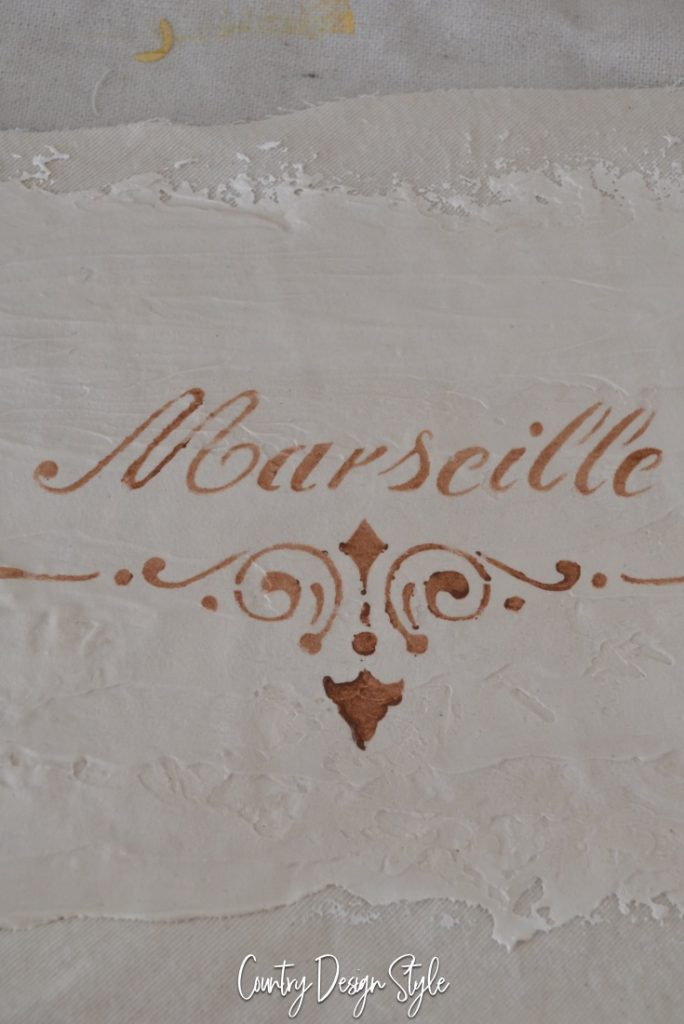 stencil-for-vintage-country-french-sign
