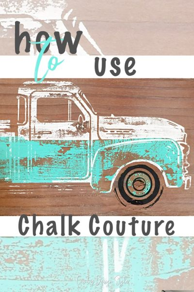 Guide to use chalk couture