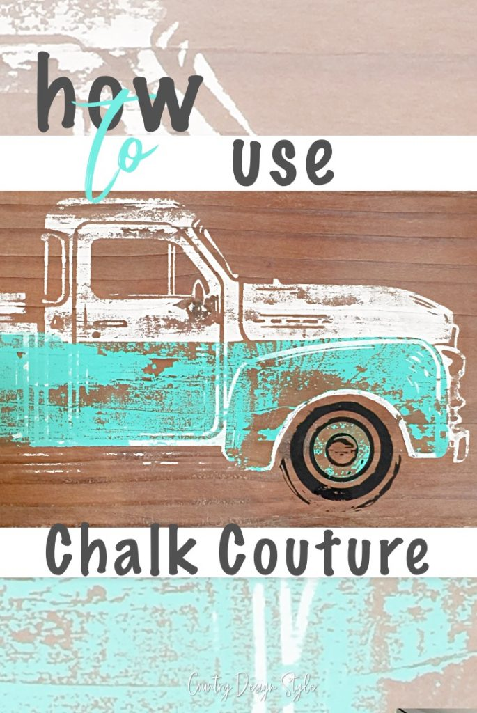 Brand New Chalk Couture Vintage Truck Add Ons Fall And Summer Home Arts & Crafts