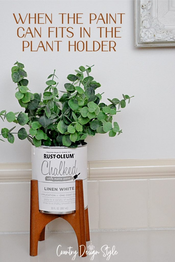 paint can and greens with text when the paint can fits in the plant holders