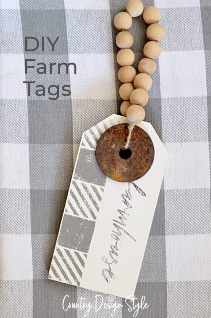 rustic farmhouse wood sign
