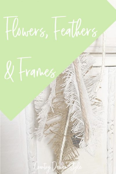 flowers and feathers DIY videos