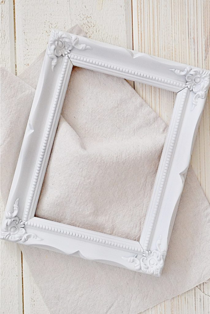 frame and drop cloth