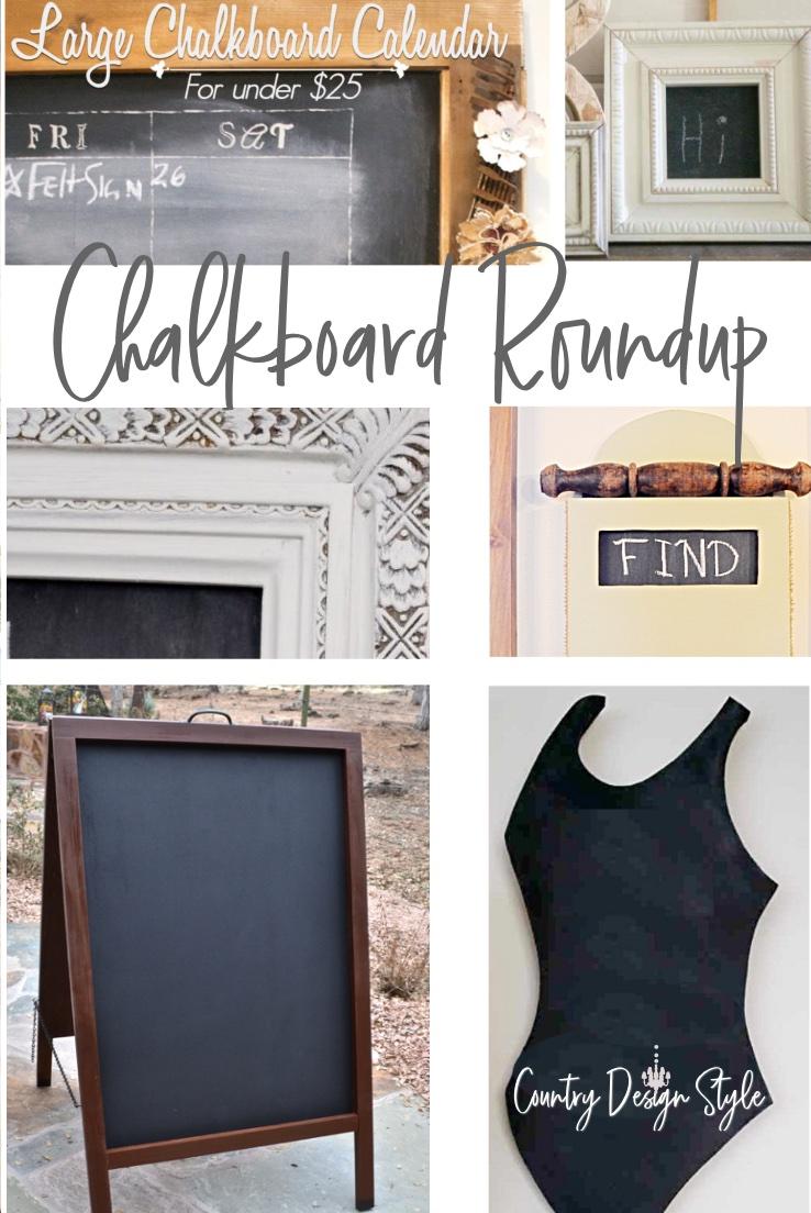 Roundup of chalkboards