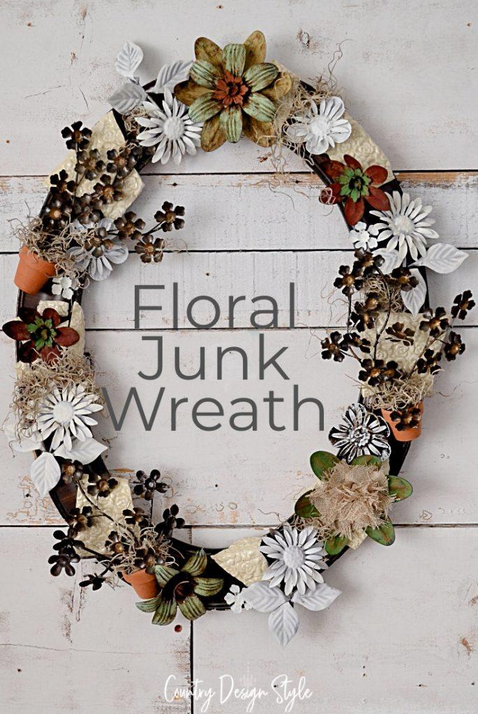 final junk wreath