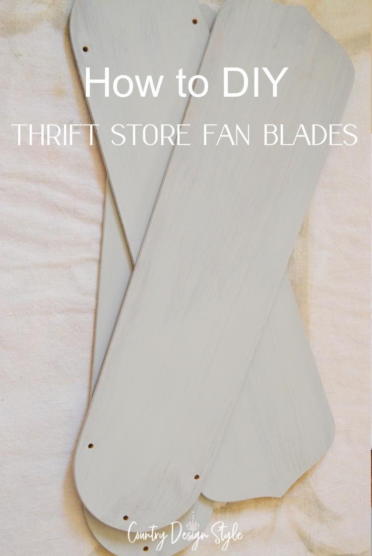fan blades sanded
