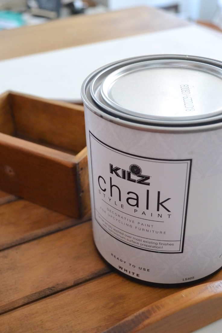 chalk-based paint for wood